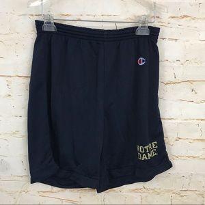 Vintage Champion Notre Dame mesh men's shorts 3638